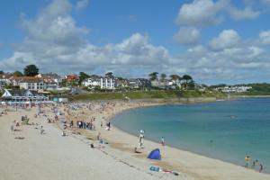 Gyllyngvase Beach Falmouth Holidays