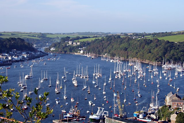 Fowey Harbour from Polruan