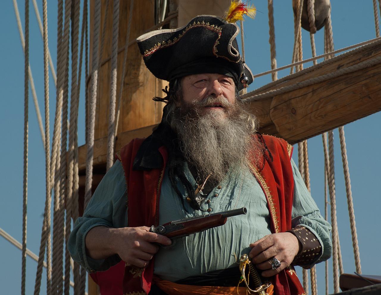 pirate costume in Cornwall